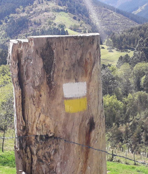 marcado de un Sendero Homologado mantenimiento de rutas y senderos en bizkaia alava araba gipuzkoa cantabria burgos soria rioja asturias
