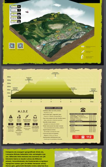 senbide Proyecto y señalización de rutas y senderos diseño-de-folletos-para-senderos-e-informacin-web-tracks-mapas-perfiles-mide