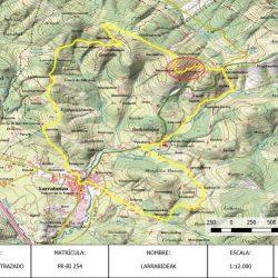 Senbide Proyecto de modificación del trazado de un sendero en Bizkaia
