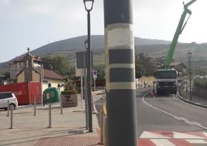 Proyecto y señalización de rutas y senderos mantenimiento de sendero en Bizkaia Zierbena