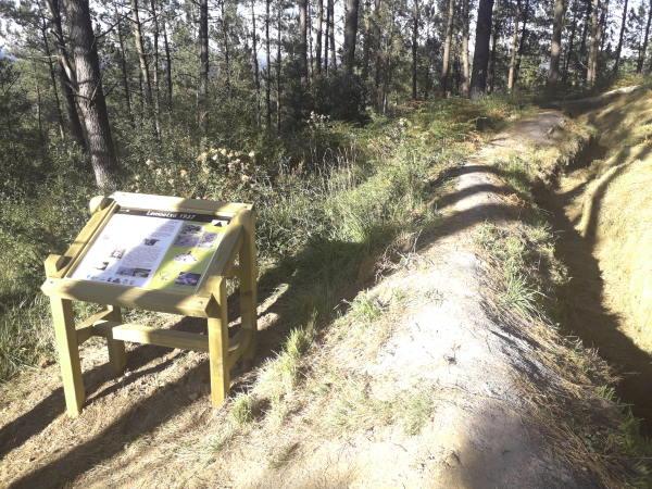 diseño de mesas interpretativas para senderos y rutas
