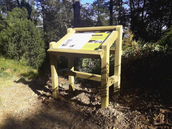 diseño de mesas interpretativas Paneles y mesas interpretativas para senderos y rutas turísticas