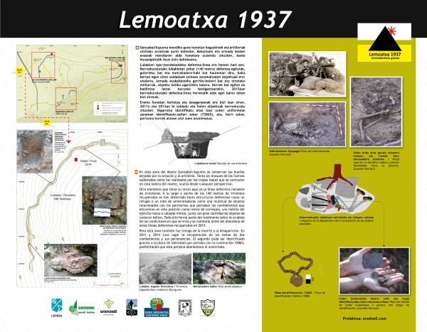 Mesa sendero de Lemoa