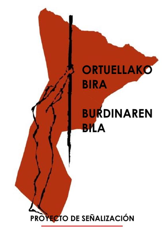 Proyecto sendero de ortuella señalizacion de senderos en Bizkaia