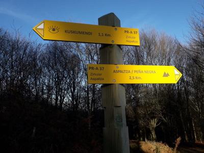 señales-direccionales-senderos-de-amurrio-señalizacion-de-senderos-en-araba-alava